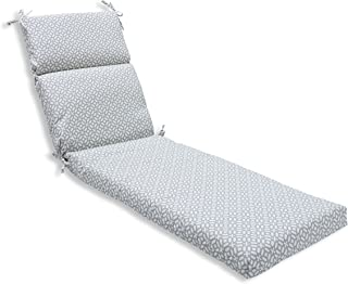 Pillow Perfect Outdoor/Indoor in The Frame Pebble Chaise Lounge Cushion