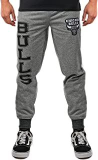 Ultra Game NBA Men's Active Fleece Jogger Sweatpants
