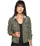 Free People - Weekend Wanderer Military Jacket