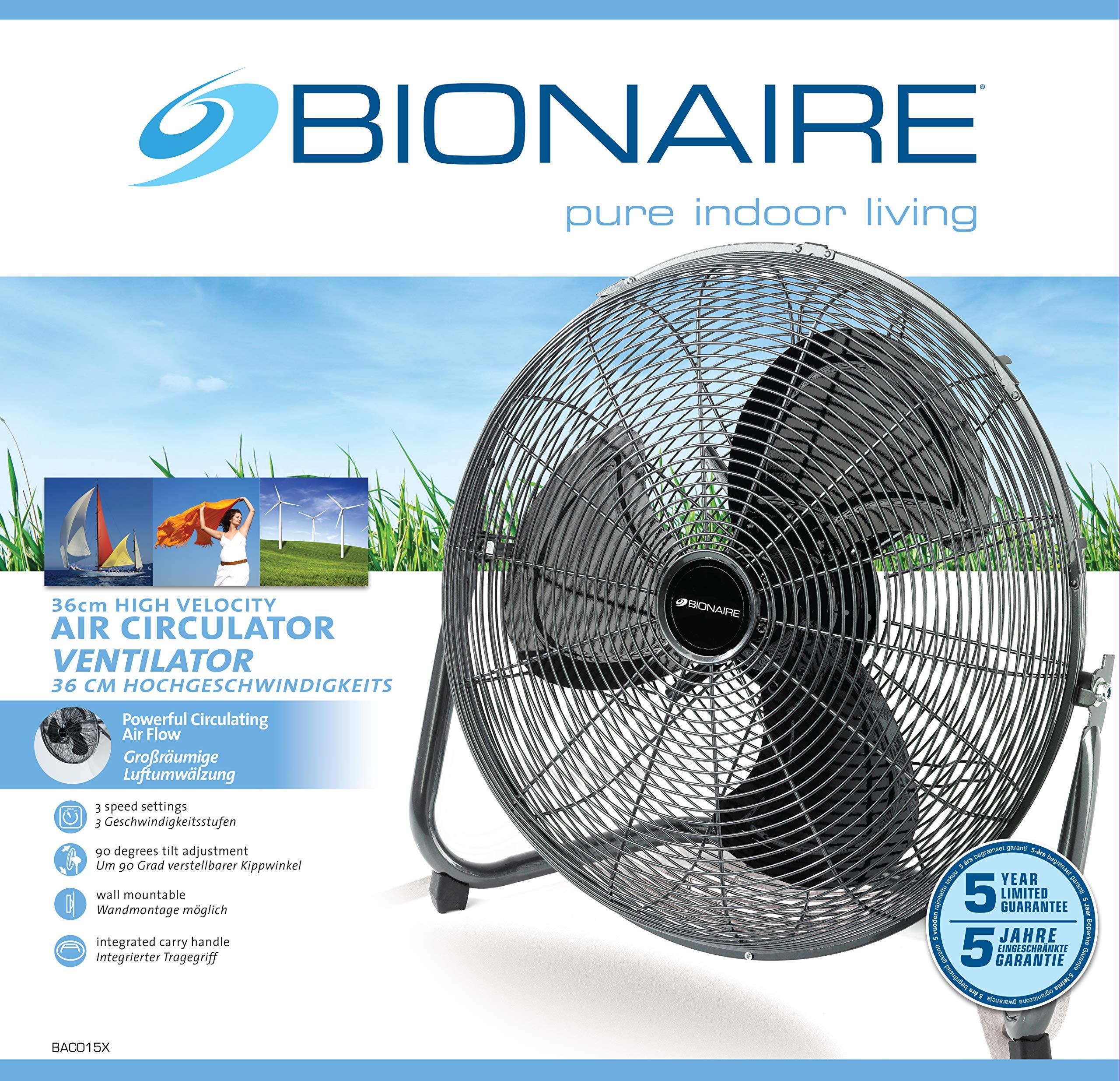 Bionaire BAC015X - Ventilador de escritorio (diámetro de 40 cm ...