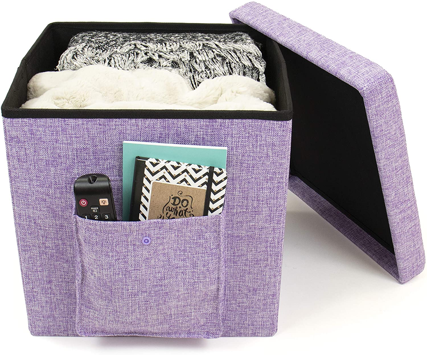 Humble Crew Folding Storage Ottoman Multi-Pur Cash special price Exterior Discount mail order Cube with