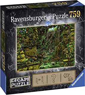 Ravensburger Escape Puzzle – Temple in Angkor Wat 759pc Mystery Jigsaw Puzzle