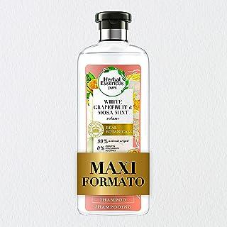Herbal Essences Shampoo Pompelmo Bianco e Menta Mosa, Dona Volume e iIratazione, in Collaborazione con Giardini Botanici R...