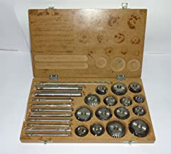 Valve Seat & Face Cutter Set / Kit - 15 Pcs Set for Vintage Cars & Bikes in Wooden Case