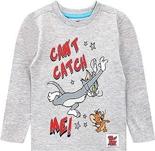 M Tom et Jerry Officiel Cartoon Adult Graphic T-Shirt classique rouge-tailles S L