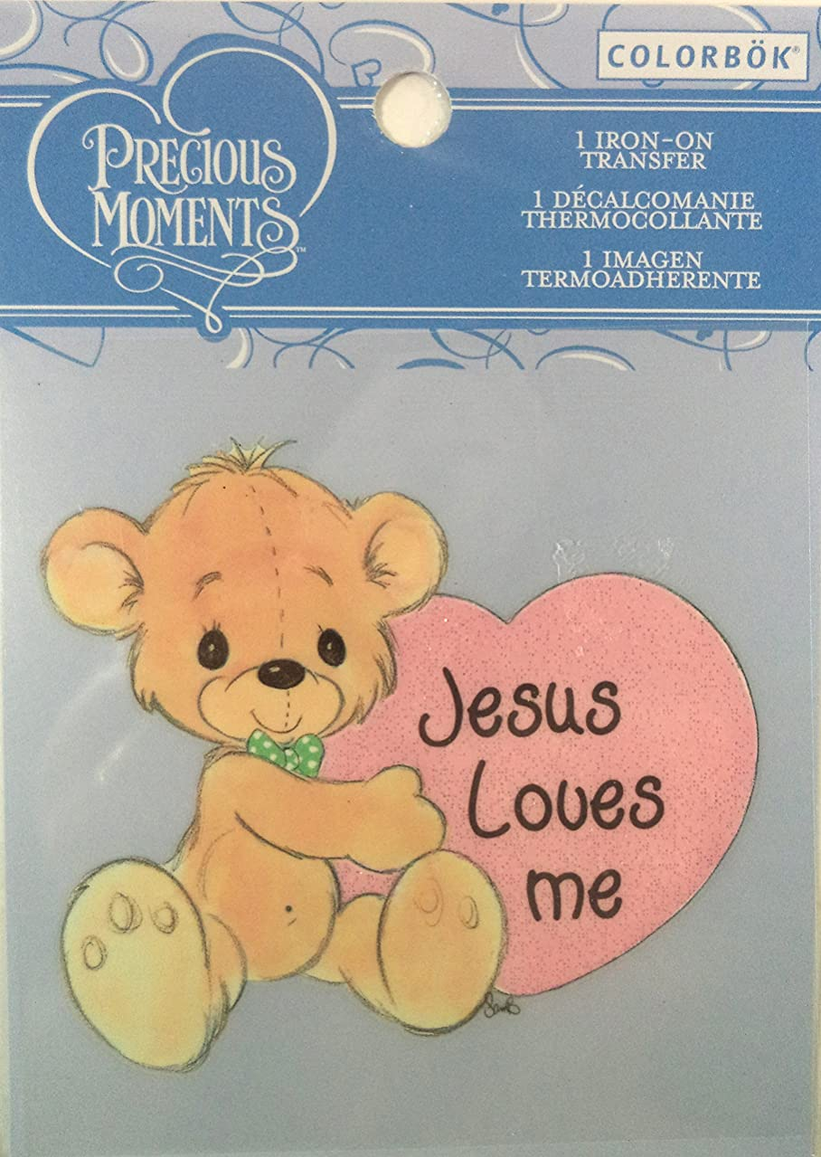 Colorbok Precious Moments Iron On Transfer