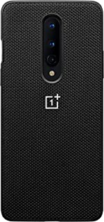 OnePlus 8 Nylon Bumper Case (Black)