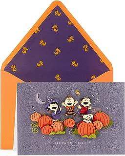 Hallmark Signature Peanuts Halloween Card (Halloween is Here!)