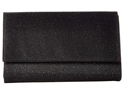 Jessica McClintock Nora Clutch (Black) Clutch Handbags