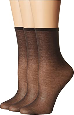 HUE Sheer Anklet 3-Pack