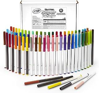 Crayola *笔尖马克笔套装,包括有香味的记号笔,各种颜色,非常适合着色书,80 支装,复活节礼物