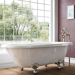 Amazon Com Under 55 Inches Clawfoot Bathtubs Bathtubs Tools