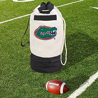 Smart Design Collegiate Heavy Duty Duffel Bag w/ 2 Compartments - 15 x 30 inch - Canvas - Officially Licensed Logo, Florida Gators, Duffel Bag
