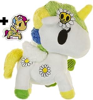 """tokidoki Margherita Unicorno ~8"""" Plush Plush Series + 1 Free Unicorno Mini-Sticker Bundle"""