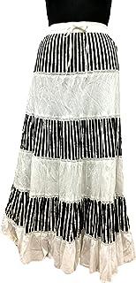 COTTON BREEZE Women's Cotton Regular Fit Skirt