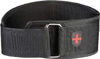 Harbinger-Gym Exercise Belt 4 inch Nylon Belt M - Black
