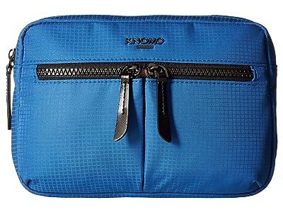 KNOMO London Dalston Palermo Convertible Crossbody (Nautical Blue) Cross Body Handbags