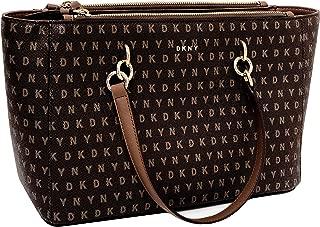 DKNY Handbag, Coated DKNY Logo Tote Purse