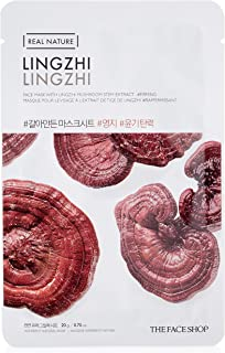 The Face Shop Real Nature Lingzhi Face Mask, 20 g