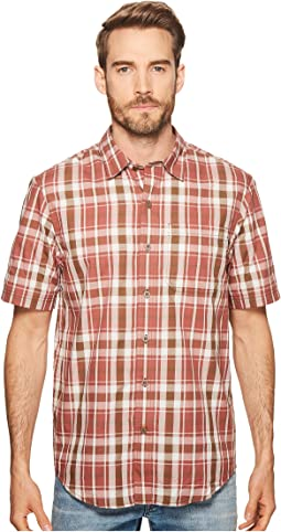 Plotline Short Sleeve Plaid Work Shirt