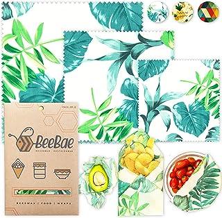 Sponsored Ad - BEEBAE BEESWAX FOOD WRAP Easy Pack, Zero Waste, Reusable Beeswax Wrap, Eco Friendly, Organic, Bees Wax Food...