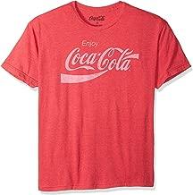 Coca-Cola Men's Coke Classic Vintage Logo T-shirt