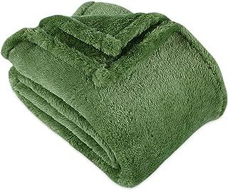 Berkshire Blanket Better Living Furry Plush Throw, Botanical