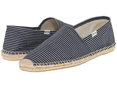 Soludos Original Stripe (Denim Blue/White) Men