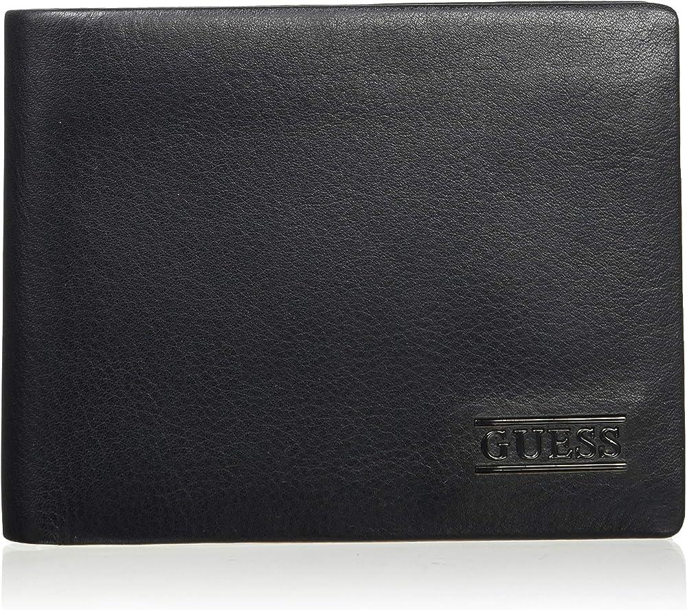 Guess new boston billfold portafogli porta carte di credito per uomo in pelle SM2509LEA20