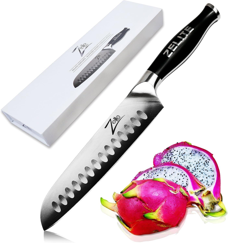 Zelite Infinity Santoku Knife 7 Germ - Max 79% OFF Popularity Inch Series Comfort-Pro