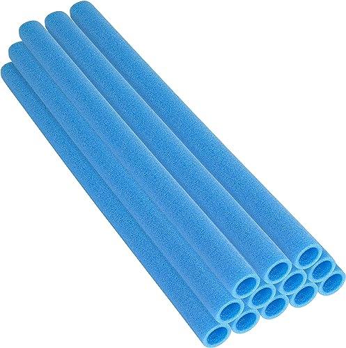Trampolin Stange Schaumstoffürmeln 12 ück blau