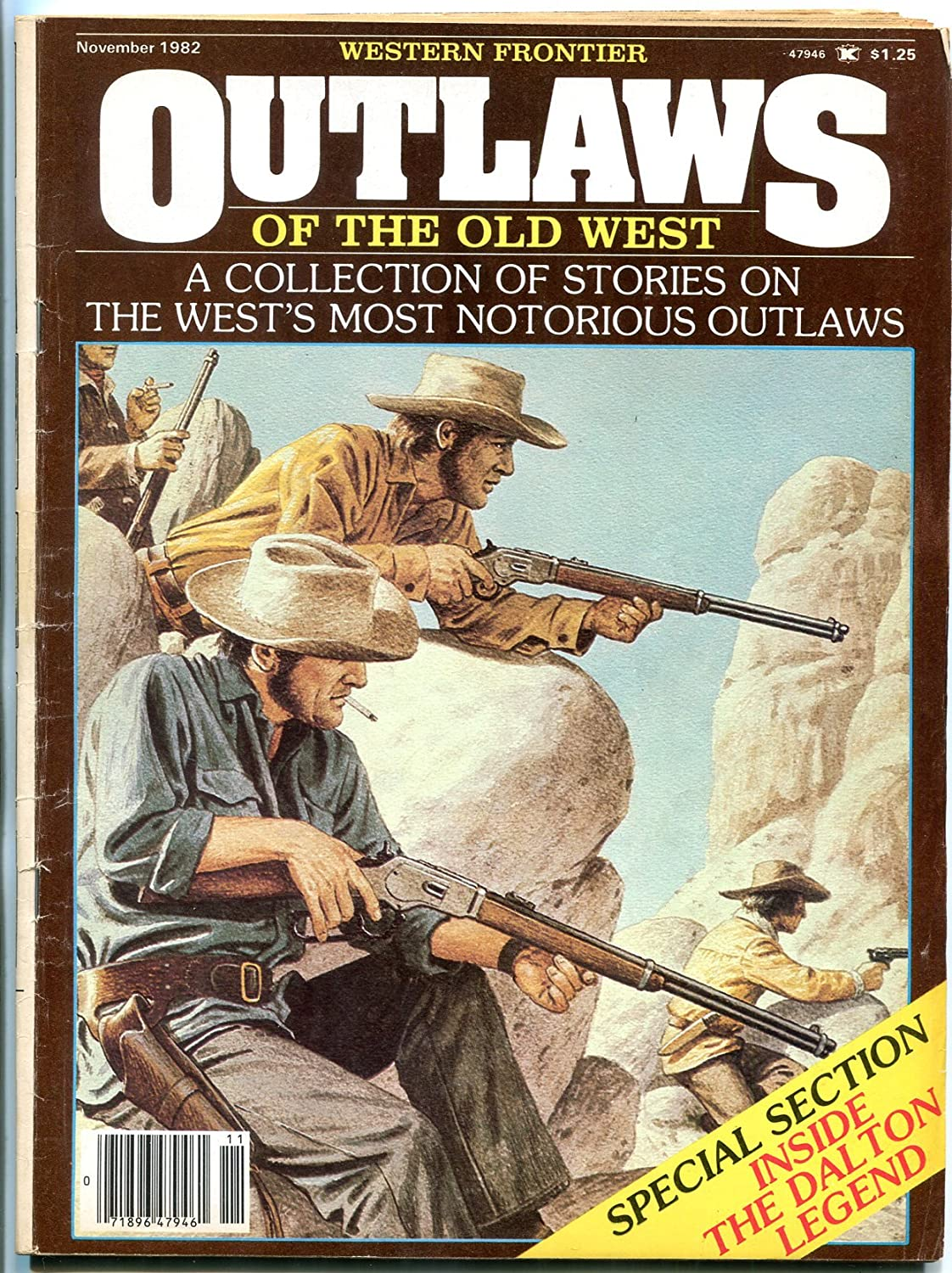 Outlaws of the Special price Old West November Billy Magazine Chicago Mall Quantrill- 1982-