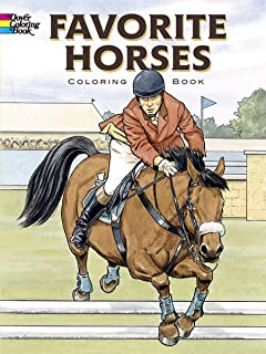 Favorite Horses Coloring Book (Dover Nature Coloring Book)