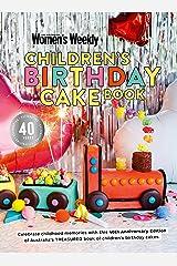 Children's Birthday Cake Book 40th Anniversary Edition Hardcover