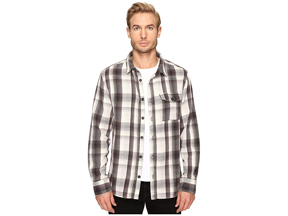 Alternative Yarn-Dye Flannel Logger Shirt Jacket (Grey Plaid) Men