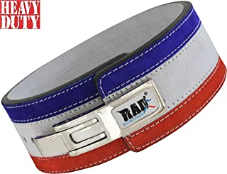 RAD Split Leather Weight Lifting Lever Pro Belt Back Support Gym Training New