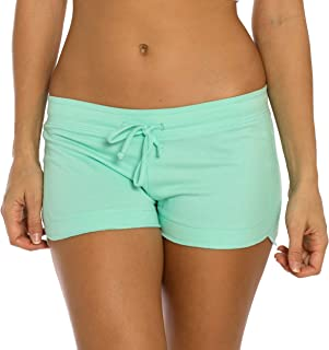 VBRANDED Women's Active Cotton Shorts (Assorted Colors, American Flag)