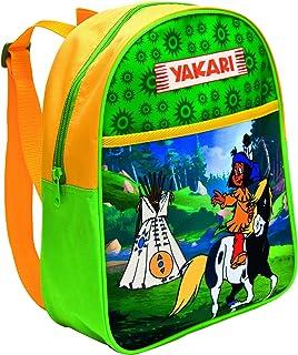 33952 Yakari - Mochila infantil (35 cm, 25 litros), multicolor