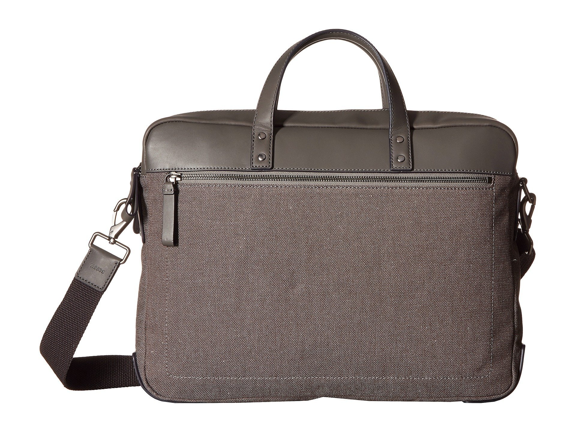 Maletin para Hombre Fossil Haskell Double Zip Workbag  + Fossil en VeoyCompro.net
