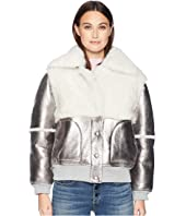 See by Chloe - Metallic Shearling Jacket