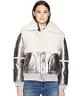 See by Chloe - Metallic Shearling Jacket