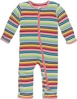 Kickee Pants Bamboo Coverall Zipper