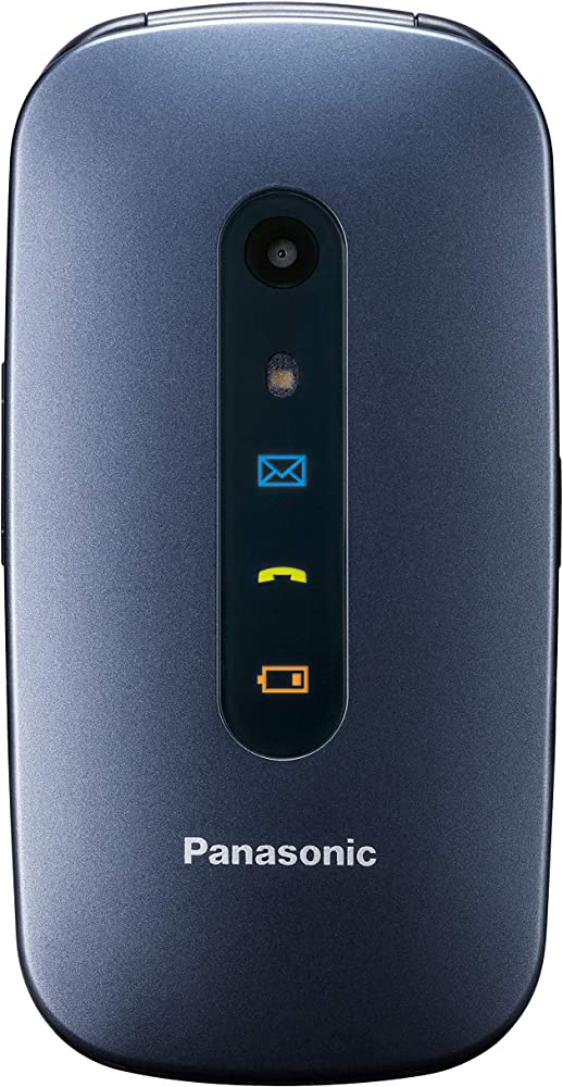 Panasonic kx-tu456 cellulare per anziani ampio display a colori, tasti grandi, chiamate prioritarie KX-TU456EXCE