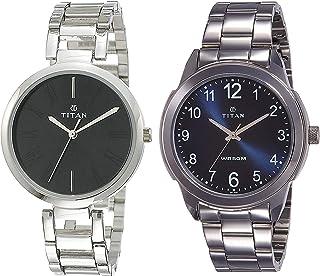 Titan Watches Combo (NK2480SM02,1585SM05)