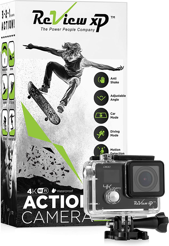 Review XP C600 Action Camera Philadelphia Mall 4K 16MP HD Ultra Sports latest Waterproof