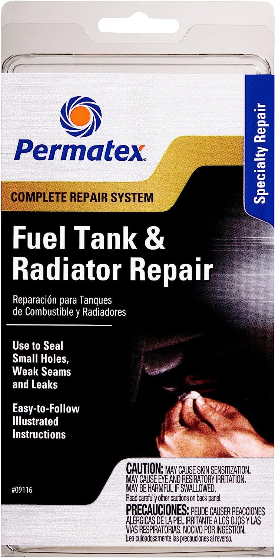 Permatex 09116-6PK Fuel Tank and Radiator Repair Kit (Pack of 6)