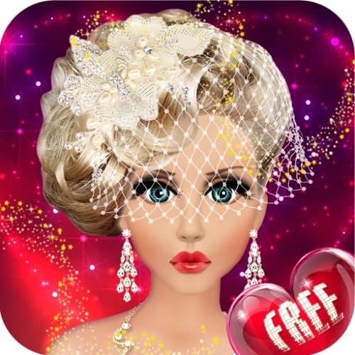 Barbie Hochzeit Braut Make-up, Frisur und Verkleidung Fashion Top Model Princess