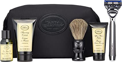 The Art of Shaving 5 Piece Travel Kit with Morris Park Razor, Unscented