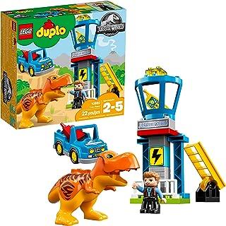 LEGO DUPLO Jurassic World T. rex Tower 10880 Building Blocks (22 Pieces)
