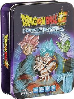 BANDAI IDW01594 Dragon Ball Super Heroic Battle Tin Board Games